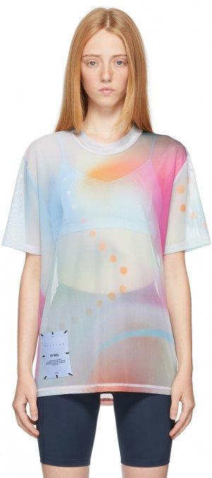 Multicolor Hyper Speckle T-Shirt MCQ. Цвет: 6972 pink/orange