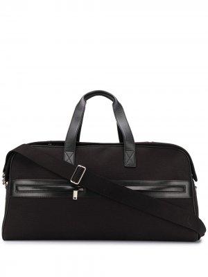 Дорожная сумка на молнии Saint Laurent. Цвет: черный