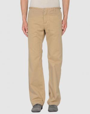 Повседневные брюки HABITUAL. Цвет: бежевый