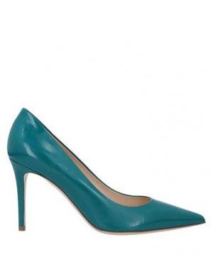 Туфли DEIMILLE. Цвет: изумрудно-зеленый