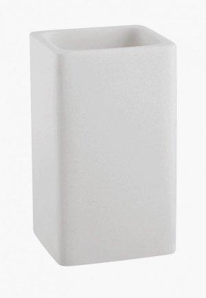 Стакан для зубных щеток Wasserkraft. Цвет: белый