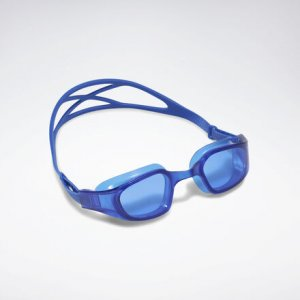 Очки для плавания Swim Training Reebok. Цвет: humble blue