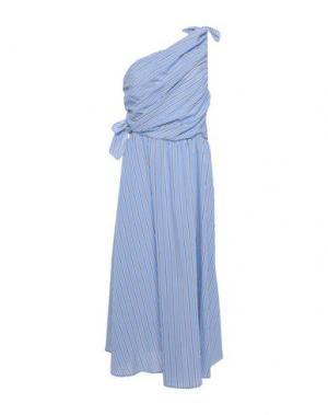 Платье длиной 3/4 A.L.C.. Цвет: небесно-голубой