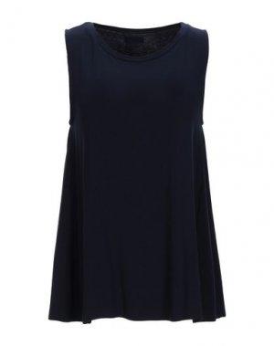 Майка ARCHIVIO B. Цвет: темно-синий
