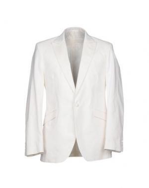 Пиджак FAVOURBROOK. Цвет: белый