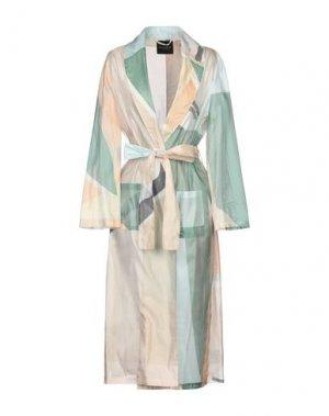 Легкое пальто ROBERTO COLLINA. Цвет: зеленый