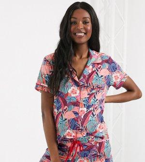 Пижама с тропическим принтом Maternity Exclusive-Мульти Chelsea Peers
