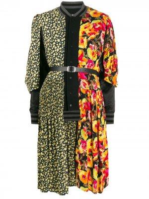 Куртка-бомбер со вставками Junya Watanabe. Цвет: черный