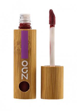 Лак для губ ZAO Essence of Nature 031 бургундский, 5 мл. Цвет: красный