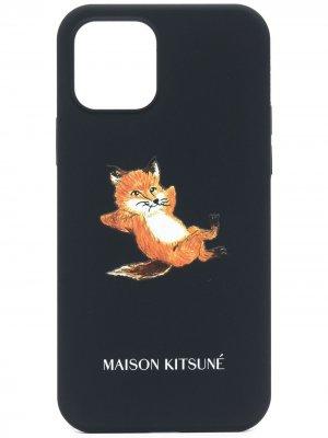 Чехол Chillax Fox для iPhone 12 Pro Maison Kitsuné. Цвет: синий