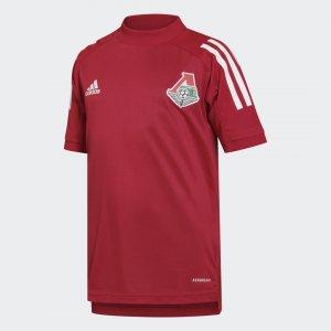 Детская тренировочная футболка ФК Локомотив Performance adidas. Цвет: none