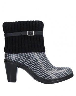 Полусапоги и высокие ботинки G&G. Цвет: черный