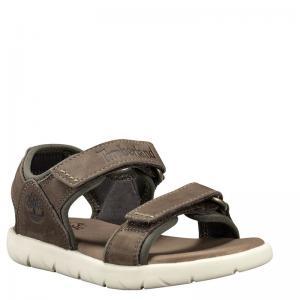 Сандалии Nubble Sandal 2 Strap Timberland. Цвет: оливковый