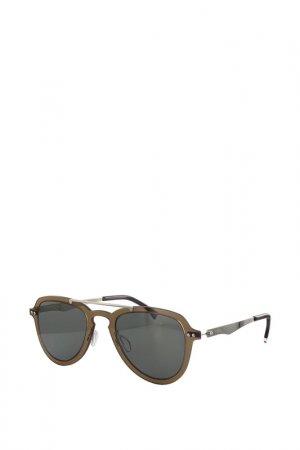 Очки солнцезащитные Byblos. Цвет: серый