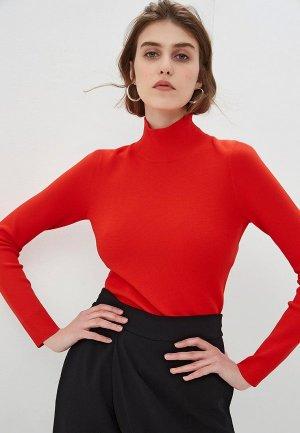 Водолазка Diane von Furstenberg. Цвет: красный