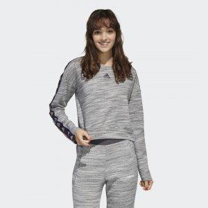 Джемпер Essentials Tape Performance adidas. Цвет: черный