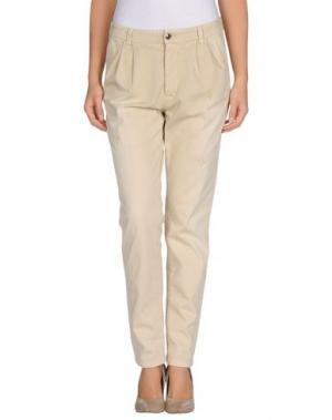 Повседневные брюки HOLLY GOLIGHTLY. Цвет: бежевый