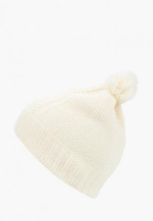 Шапка Фабрика Оренбургских пуховых платков. Цвет: белый