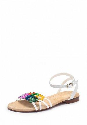 Сандалии Fascino Donna FA550AWCD234. Цвет: белый, мультиколор