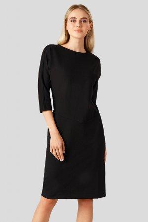 Платье женское Finn-Flare. Цвет: черный