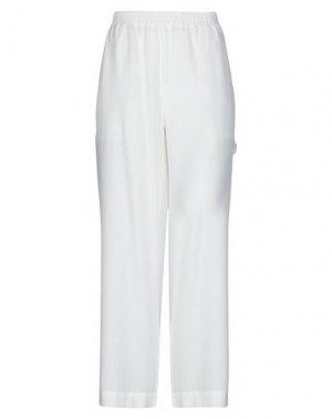 Повседневные брюки GOLD HAWK. Цвет: белый