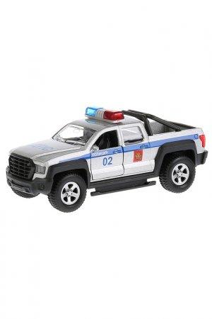 Машина Пикап полиция Технопарк. Цвет: синий