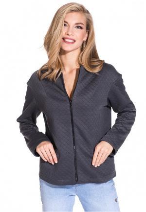 Куртка Gloss MP002XW1ANPI. Цвет: серый