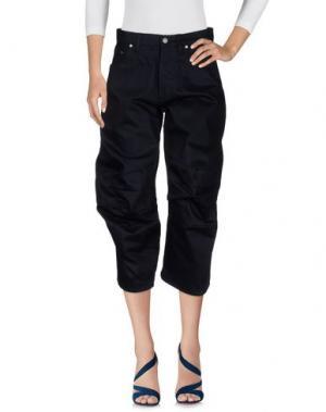 Джинсовые брюки CHALAYAN. Цвет: темно-синий