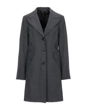 Легкое пальто X'S MILANO. Цвет: свинцово-серый