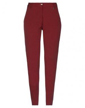 Повседневные брюки FLY GIRL. Цвет: кирпично-красный