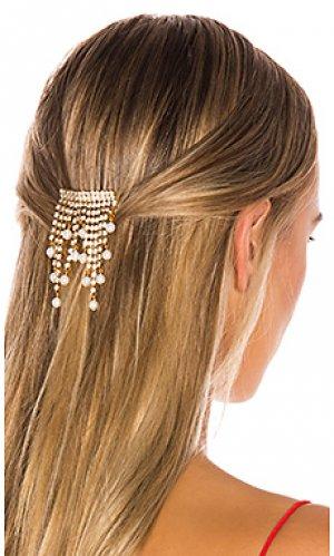 Гребень для волос carlisle Elizabeth Cole. Цвет: металлический золотой