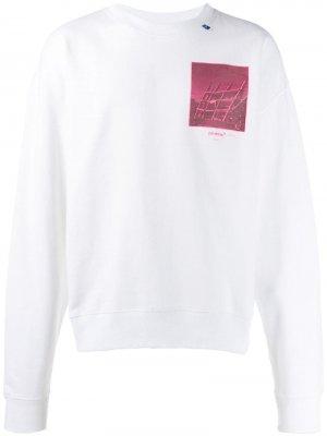 Graphic print sweatshirt Off-White. Цвет: белый