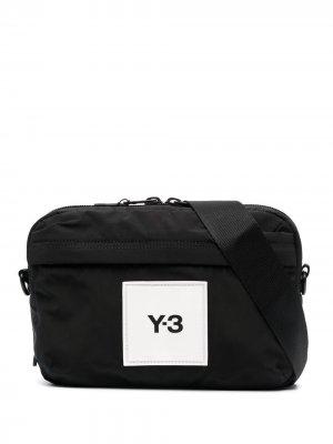 Поясная сумка с нашивкой-логотипом Y-3. Цвет: черный