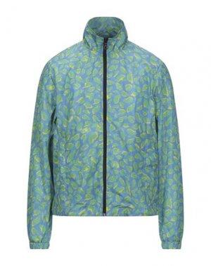Легкое пальто DUVETICA. Цвет: пастельно-синий