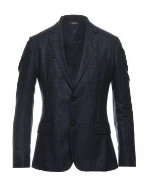 Пиджак MAESTRAMI. Цвет: синий