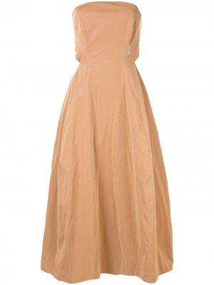 Платье Alexie CAMILLA AND MARC. Цвет: коричневый