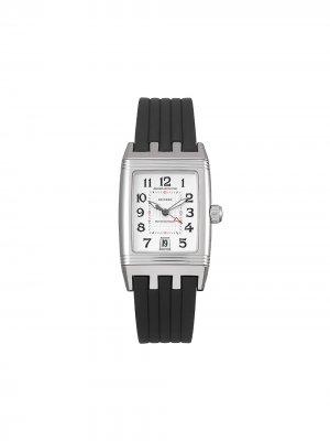 Наручные часы Reverso Grand Sport pre-owned 44 мм 2011-го года Jaeger-LeCoultre. Цвет: белый
