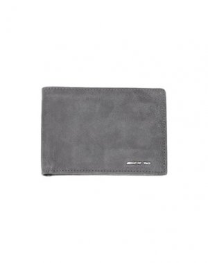 Бумажник SANTONI. Цвет: свинцово-серый