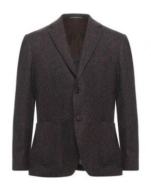 Пиджак ANDREA BARBERI. Цвет: коричневый