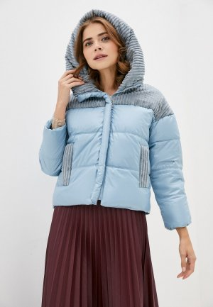 Куртка утепленная Snow Airwolf. Цвет: голубой