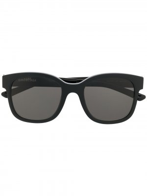 Square-frame sunglasses Balenciaga Eyewear. Цвет: черный