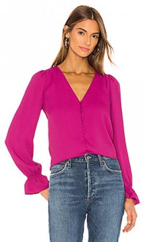 Блузка bolona Joie. Цвет: розовый