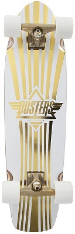 Скейтборды Dusters. Цвет: белый