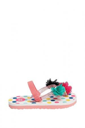 Шлепанцы пляжные Gioseppo. Цвет: розовый