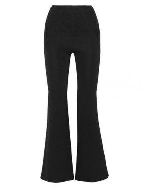 Повседневные брюки HERVÉ LÉGER. Цвет: черный