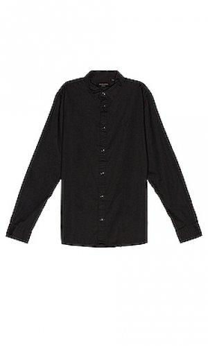 Рубашка redondo ALLSAINTS. Цвет: черный
