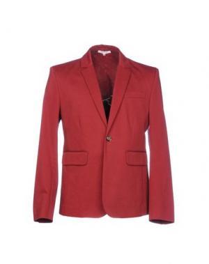 Пиджак CARVEN. Цвет: кирпично-красный