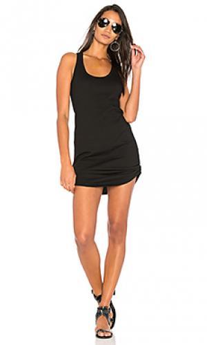 Платье-майка Pam & Gela. Цвет: черный