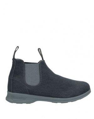 Полусапоги и высокие ботинки BLUNDSTONE. Цвет: темно-синий