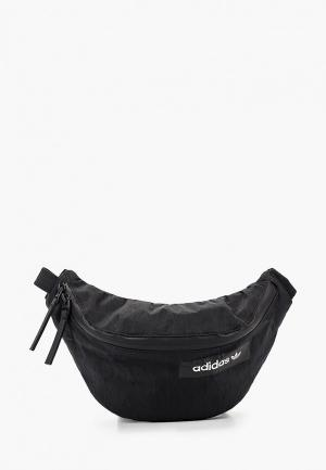 Сумка поясная adidas Originals FUTURE WAISTBAG. Цвет: черный